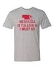 Picture of Nebraska Is Calling & I Must Go T-shirt