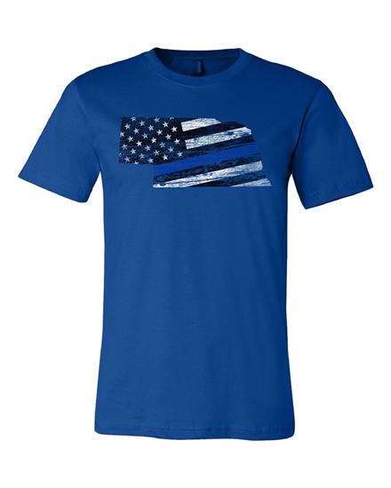 Picture of Nebraska Law Enforcement Flag Shirt