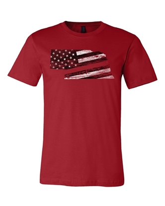Picture of Nebraska Fire/Rescue Flag Shirt