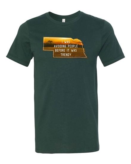 Picture of Avoiding People NE T-shirt