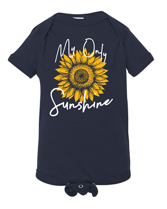Picture of My Only Sunshine Infant Onesie