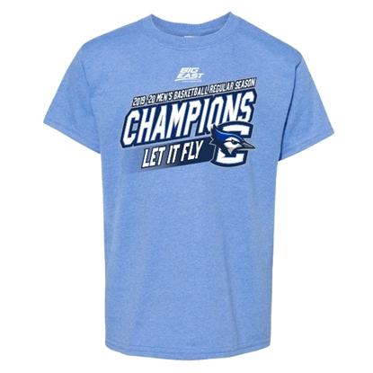 Picture of Creighton Youth 2019-20 Big East Basketball Regular Season Champions Short Sleeve Shirt