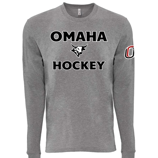 Picture of UNO Hockey Sueded Long Sleeve Shirt (UNO-028)