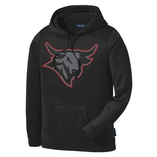 Picture of UNO Glowing Bull Performance Hooded Sweatshirt