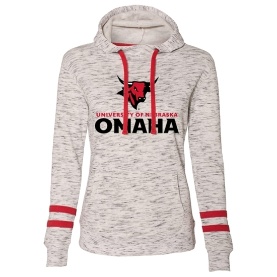 Picture of UNO Ladies Melange Fleece Hooded Sweatshirt (UNO-029)