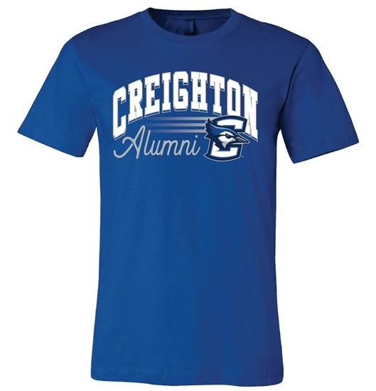 Picture of Creighton Alumni Soft Cotton Short Sleeve Shirt  (CU-225)