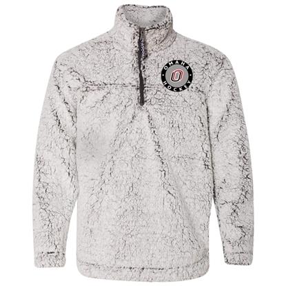 Picture of UNO Sherpa Fleece ¼ Zip Pullover (UNO-EMB-003)
