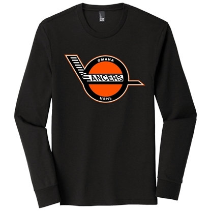 Picture of Lancers Hockey Soft Cotton Long Sleeve Shirt (LANCERS-008)