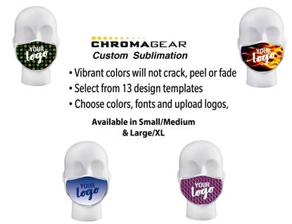 Picture of Custom Premium Sublimated Face Masks