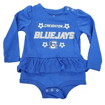 Picture of Creighton Infant Skirt Romper Royal