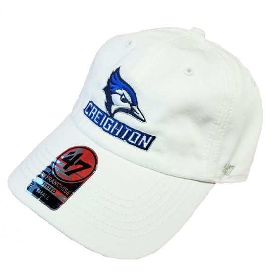 Picture of Creighton Fitted White Game Hat
