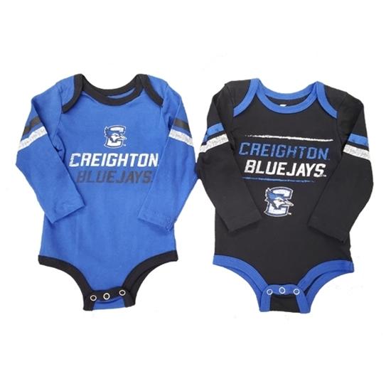 Picture of Creighton Colosseum® Infant 2-Pack Romper Onesie