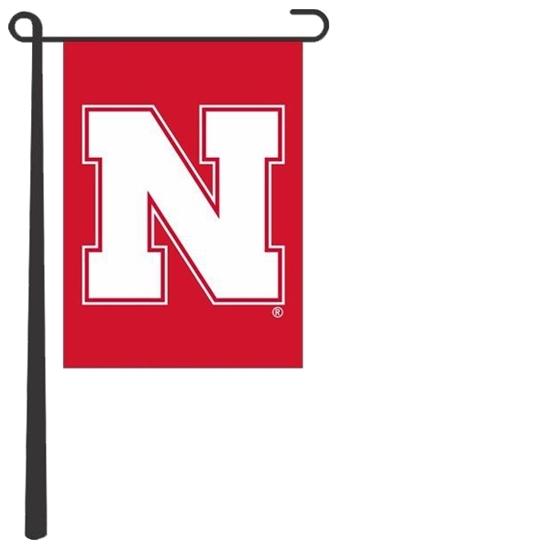 Picture of Nebraska Silk Screened Garden Flag