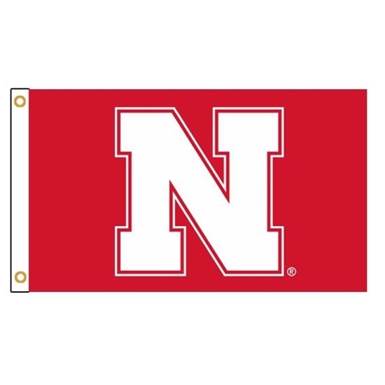 Picture of Nebraska Silk Screened Flag