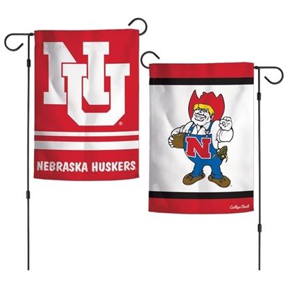 Picture of Nebraska Double Sided Garden Flag