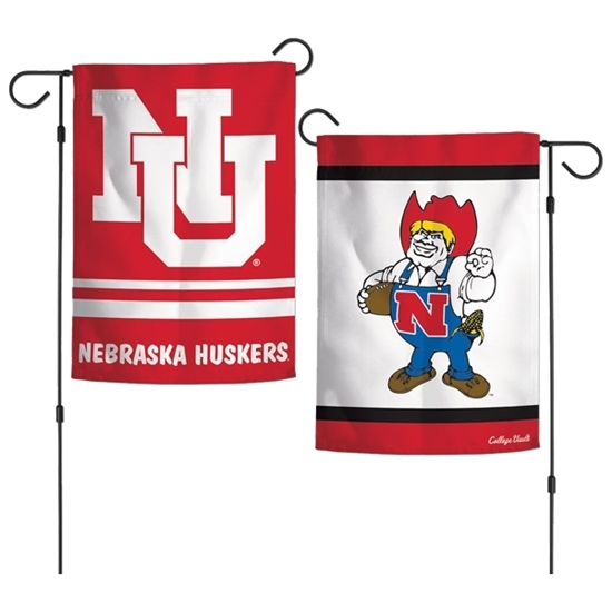 Picture of Nebraska Double Sided Garden Flag