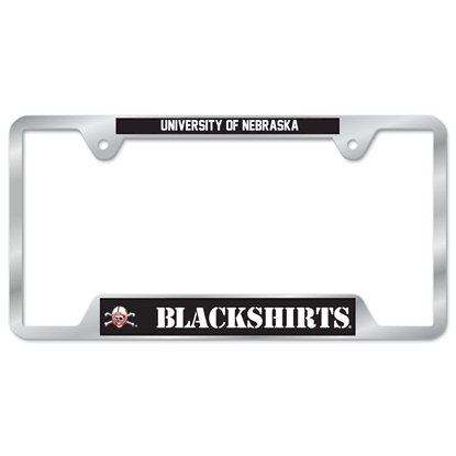 Picture of Nebraska Blackshirts License Plate Frame