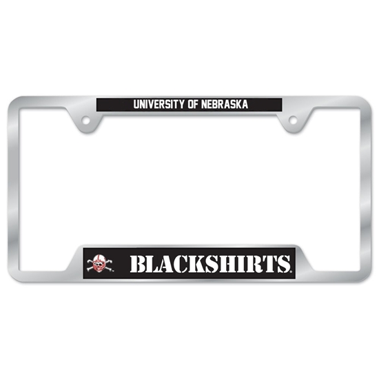 Picture of Nebraska Blackshirts License Plate Frame