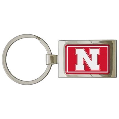 Picture of Nebraska Premium Dome Key Ring