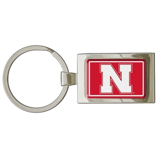 Picture of Nebraska Premium Dome Key Ring