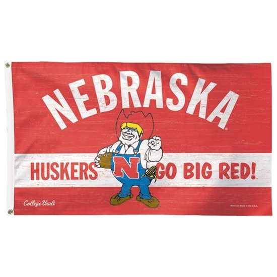Picture of Nebraska 3' x 5' Herbie Flag
