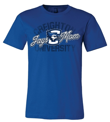 Picture of Creighton Jays Mom Soft Cotton Short Sleeve Shirt  (CU-222)