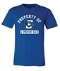 Picture of Creighton Property of Dad Soft Cotton Short Sleeve Shirt  (CU-223)