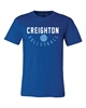 Picture of Creighton Volleyball Soft Cotton Short Sleeve Shirt  (CU-227)