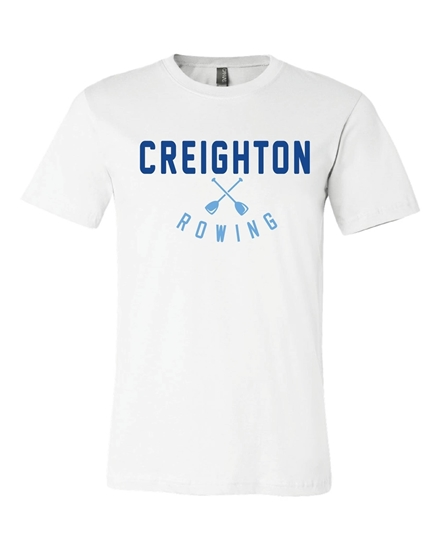 Picture of Creighton Rowing Soft Cotton Short Sleeve Shirt  (CU-228)