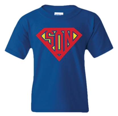Picture of Superman Son Father's Day T-shirt - Infant/Toddler/Youth