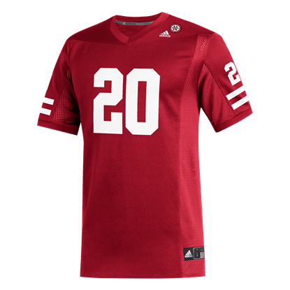 Picture of Nebraska Adidas® #20 Replica Football Jersey