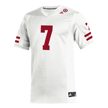 Picture of Nebraska Adidas® #7 Replica Football Jersey