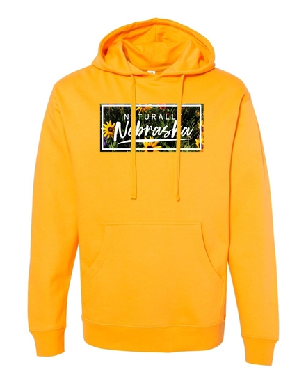 Picture of Naturally Nebraska Daisies Cotton Hoodie
