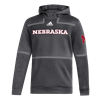 Picture of Nebraska Adidas® Under the Lights Hooded Pullover