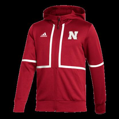 Picture of Nebraska Adidas® Under the Lights Full Zip Jacket
