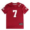 Picture of Nebraska Adidas® Toddler #7 Replica Jersey Red