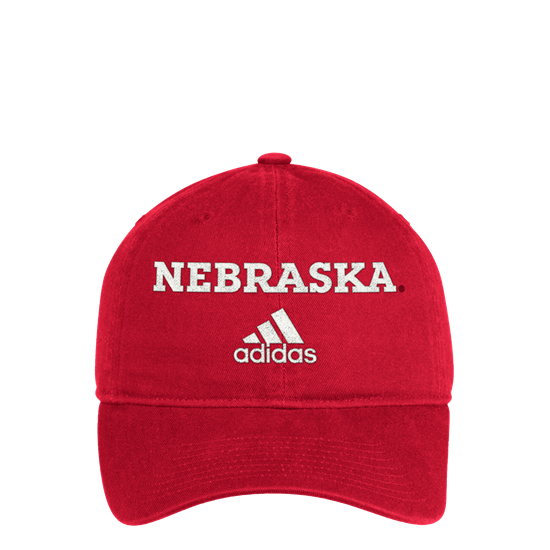 Picture of Nebraska Adidas® BOS Cotton Slouch Hat