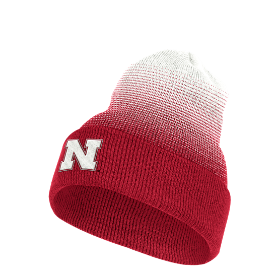 Picture of Nebraska Adidas® Coach Cuffed Beanie