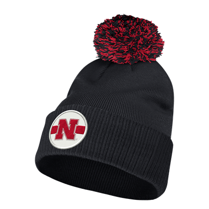 Picture of Nebraska Adidas® Stadium Cuffed Pom Beanie