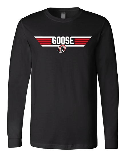 """Picture of Goose """"O"""" Soft Cotton Long Sleeve Shirt (UNO-053)"""