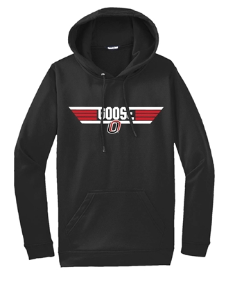 "Picture of Goose ""O"" Cotton Hooded Sweatshirt (UNO-053)"