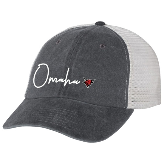 Picture of UNO Pigment Dyed Trucker Adjustable Hat