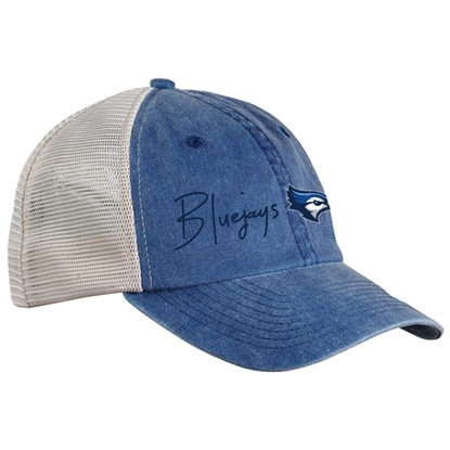Picture of Creighton Pigment-Dyed Trucker Adjustable Hat