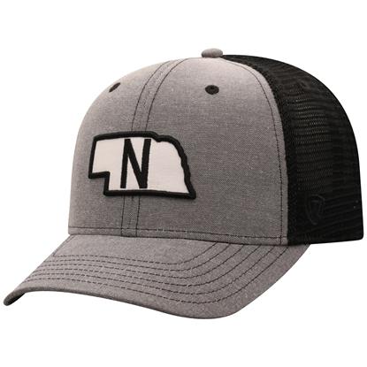 Picture of Nebraska TOW Adjustable Blackline Hat