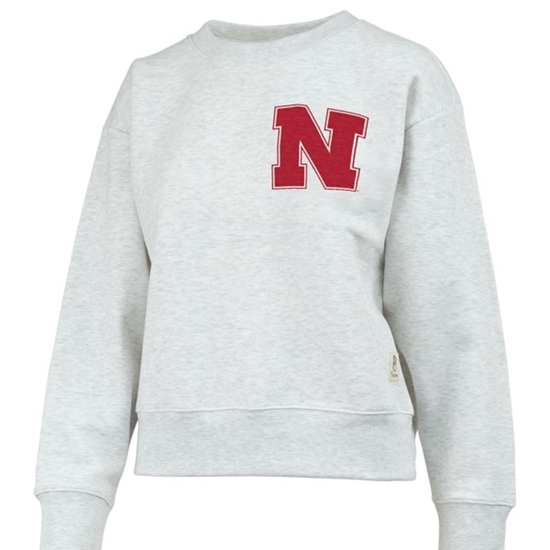 Picture of Nebraska Pressbox®  Ladies Madi Sweatshirt
