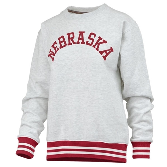 Picture of Nebraska Pressbox® Ladies Santa Clara Sweatshirt