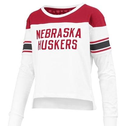 Picture of Nebraska Pressbox®  Ladies Kaia Long Sleeve Shirt