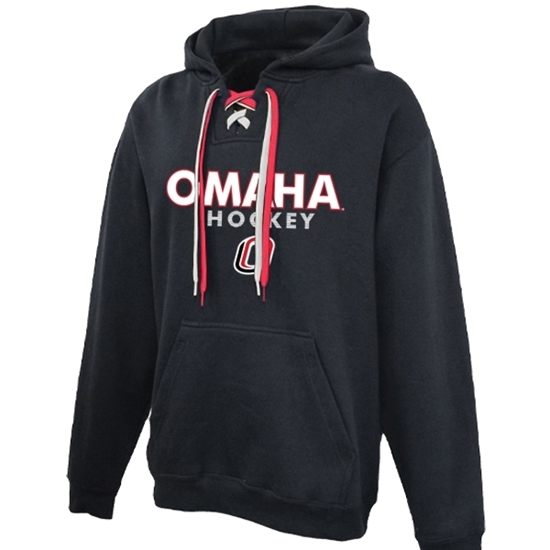 Picture of UNO Hockey 2-Lace Hooded Sweatshirt (UNO-GTX-004)