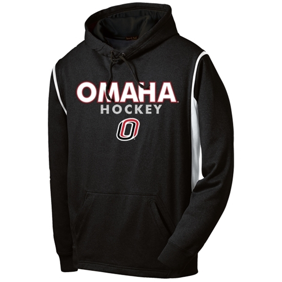 Picture of UNO Sport-Tek® Fleece Colorblock Hooded Sweatshirt (UNO-GTX-004)