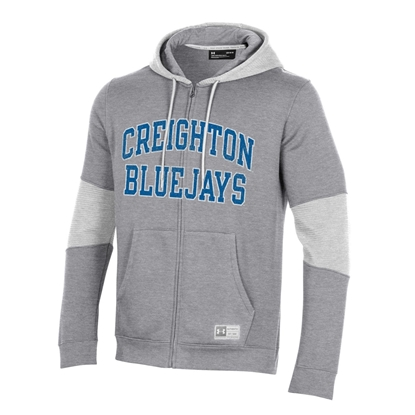 Picture of Creighton Under Armour® SMU Full Zip Hooded Sweatshirt